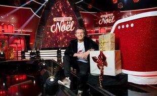 Jean-Luc Reichmann sur le plateau de «C'est déjà Noël».