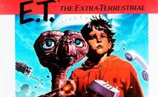 La jaquette du jeu vidéo E.T.