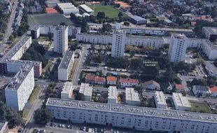 Les coups de feu ont été tirés au sein du quartier Breil-Malville à Nantes.