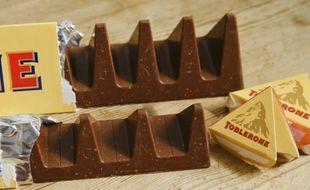 Le Toblerone a subi une légère transformation qui ne plaît pas aux amateurs de la barre chocolatée