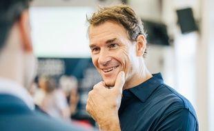 Jens Lehmann lors d'un sommet de la Fondation Laureus à Paris, le 18 octobre 2018.