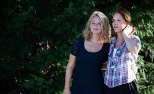 Virginie Efira retrouve Justine Triet (à dr.) dans Sibyl, sélectionné en compétition à Cannes