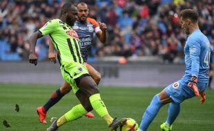 Stéphane Bahoken a égalisé dans le temps additionnel alors que Montpellier menait 2-0 en supériorité numérique