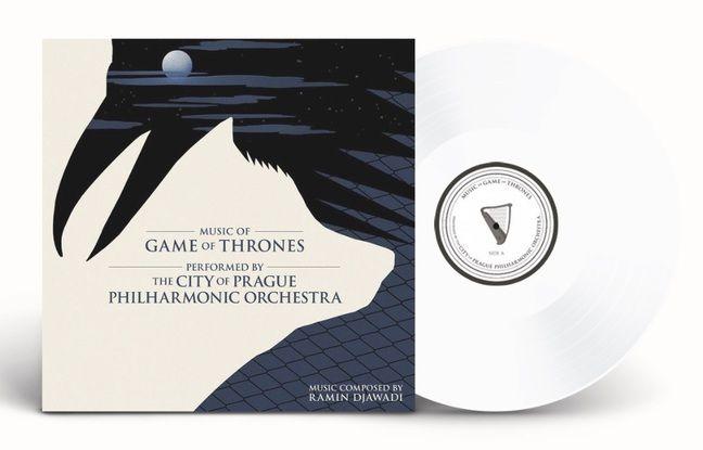 « Music of Game of Thrones », par l'orchestre philharmonique de Prague, a été pressé à 1.000 exemplaires en édition limitée.