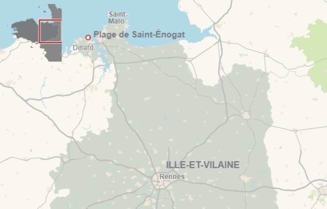 Un enfant meurt enseveli sur une plage de Dinard — Ille-et-Vilaine