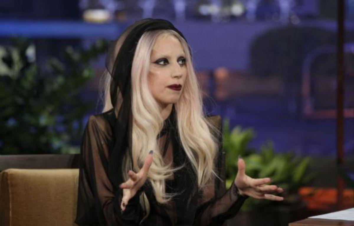 Lady Gaga lors d'une interview, le 14 février 2011, à la télévision américaine – Paul Drinkwater/NBC/AP/SIPA