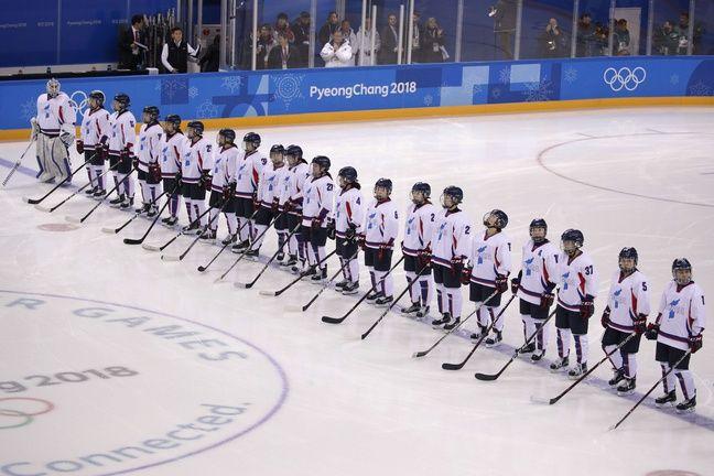 L'équipe unifiée de Corée