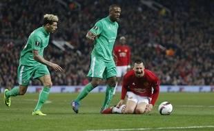 Zlatan Ibrahimovic a ponctué son match jeudi en provoquant un penalty après un léger contact avec Kévin Théophile-Catherine.