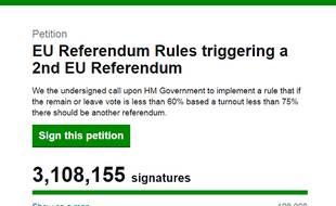 L'homme à l'origine de cette pétition est un partisan du Brexit.