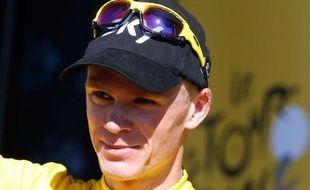 Le Britannique Christopher Froome, vainqueur du Tour de France 2013.