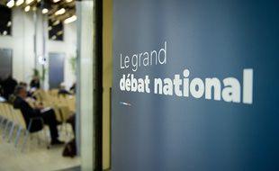 Illustration sur le Grand débat national.