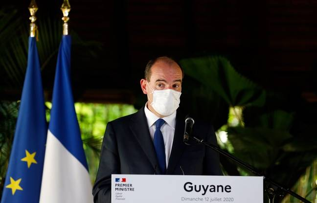 Coronavirus en Guyane: «L'usage développé du port du masque dans les lieux clos est à l'étude », assure Jean Castex