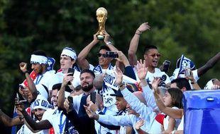 Le retour en France des Bleus champions du monde
