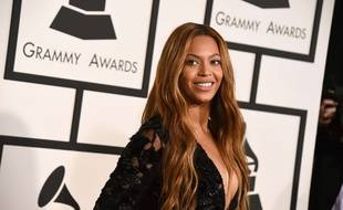 Beyonce arrives at the 57th annual Grammy Awards at the Staples Center on Sunday, Feb. 8, 2015, in Los Angeles. (Photo by Jordan Strauss/Invision/AP)/CACJ224/117248465958/020815110375/1502090158