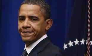 Le président américain Barack Obama, à la Maison Blanche, le 20 janvier 2010.