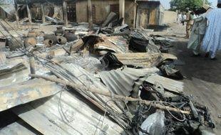 Une précédente attaque à Mafa, au Nigeria, le 2 mars 2014