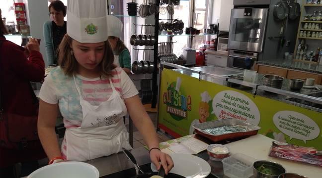 Strasbourg avec cuisine aventure les enfants seront les - Cours de cuisine angers ...