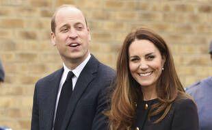 Kate Middleton et le prince William le 21 avril 2021 à Londres