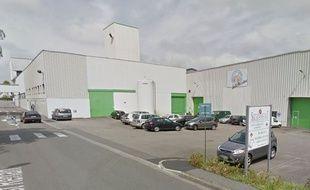 La friche industrielle de Rosporden (Finistère).