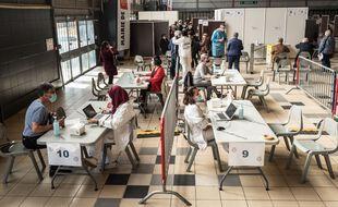 A Toulouse, le vaccinodrome a été installé dans le hall 8 de l'ancien parc des expositions.