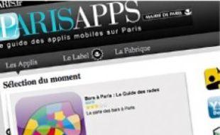 Ce site répertorie les applis sur Paris.