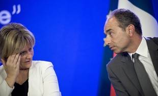 Nadine Morano et Jean-François Copé