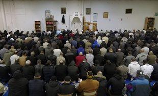 Une salle de prière musulmane. (Illustration)