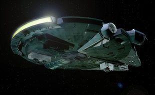 Illustration d'un vaisseau spatial.