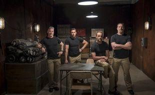 Les quatre instructeurs de « Forces spéciales : l'expérience »
