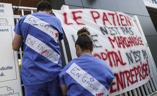 Vingt-cinq services des hôpitaux parisiens sont en