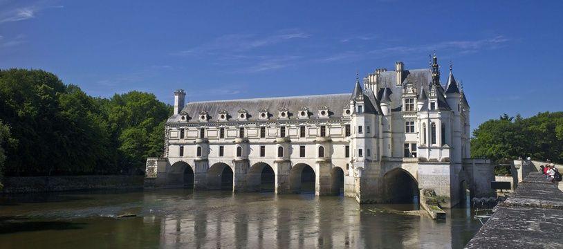 Le château de Chenonceau en Indre-et-Loire.