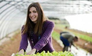 Fanny Struelens s'est engagée dans un projet de maraïchage biologique avec des adultes autistes