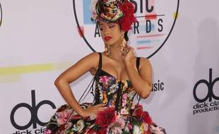 La rappeuse Cardi B aux American Music Awards