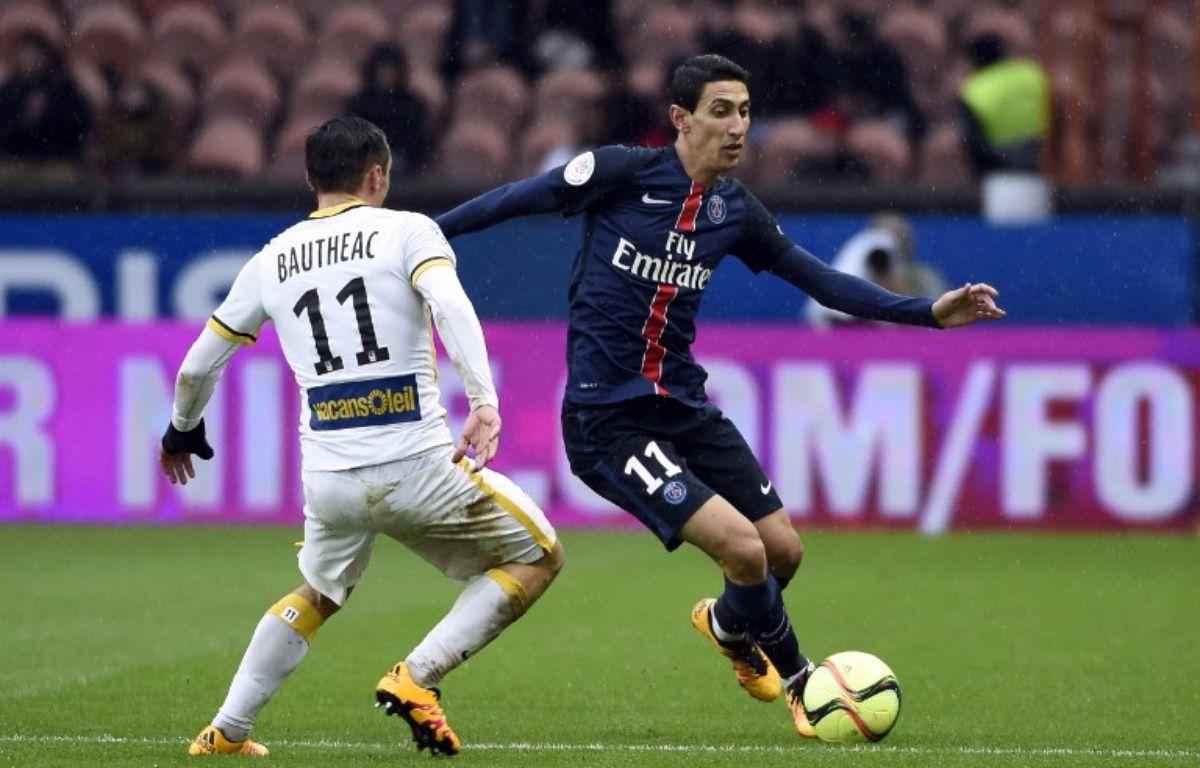 PSG-Lille, le 13 février 2016.  – MIGUEL MEDINA / AFP