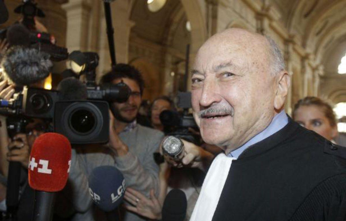 Maître Kiejman, avocat de Jacques Chirac, le 6 septembre 2011 au Palais de Justice de Paris.  – Michel Euler/AP/SIPA