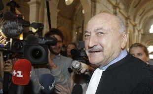 Maître Kiejman, avocat de Jacques Chirac, le 6 septembre 2011 au Palais de Justice de Paris.