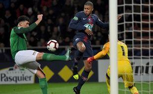 Le PSG ne se balade pas face à Pontivy, en 32e de finale de Coupe de France, le 6 janvier 2019.