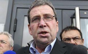 Barthelemy Aguerre, le président de Spanghero le 11 février 2013 à Castelnaudary.