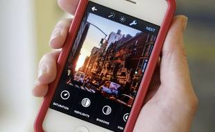 L'application Instagram sur smartphone.