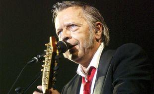 Renaud lors d'un concert à Bruxelles (Belgique), en 2007.