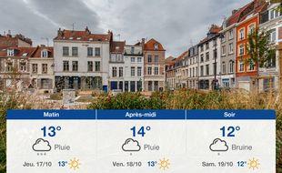 Météo Lille: Prévisions du mercredi 16 octobre 2019