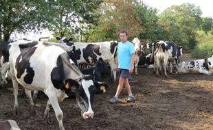 Une journée festive a lieu ce samedi pour préserver la ferme Campaville exploitée par Anthony Vaillant à Couëron