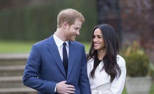 Le prince Harry et Meghan Markle prêts pour le mariage.