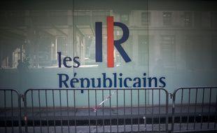 Siège du parti Les Républicains (ex-UMP), Rue de Vaugirard, Paris, France. Septembre 2015. Credit:NICOLAS MESSYASZ/SIPA/1612260225