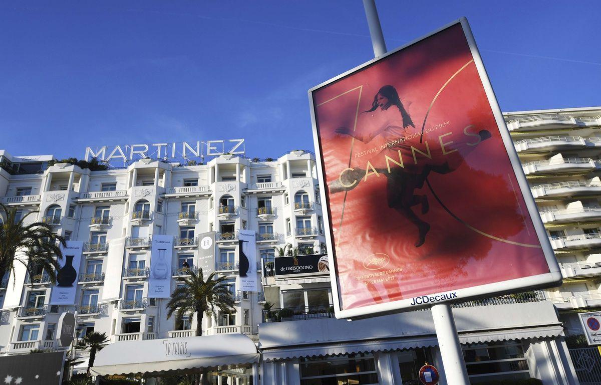 Vue de l'hôtel Martinez à Cannes en mai 2017. – Arthur Mola/AP/SIPA