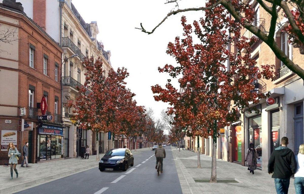 Le réaménagement de la rue Bayard selon l'urbaniste Joan Busquets. – Agence BAU-B