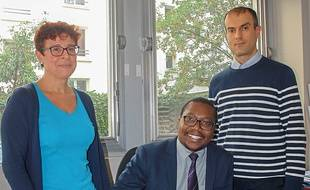 Des agents de l'Agence Cap emploi de Paris.