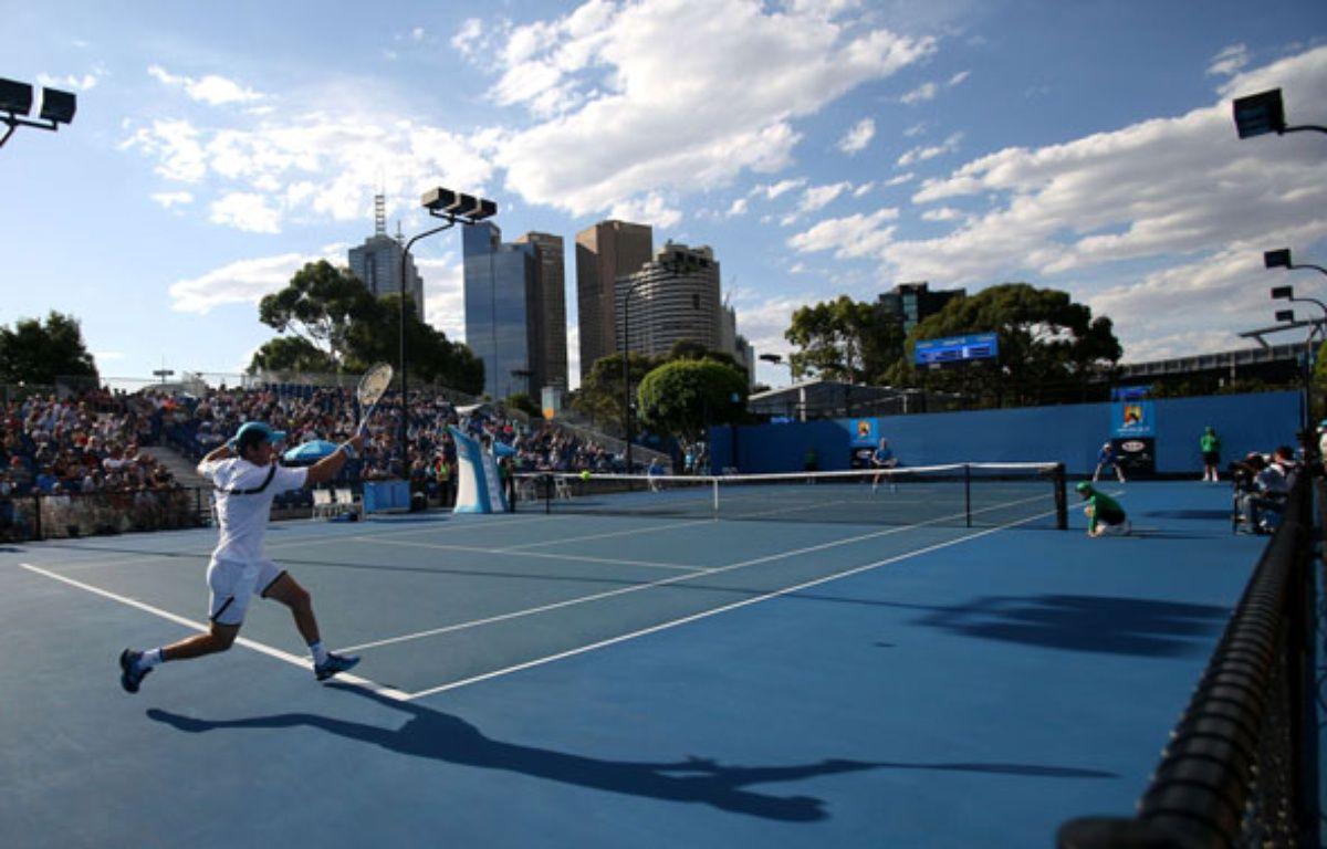 Un match du premier tour à l'Open d'Australie, le 18 janvier 2015.  – Aaron Favila/AP/SIPA