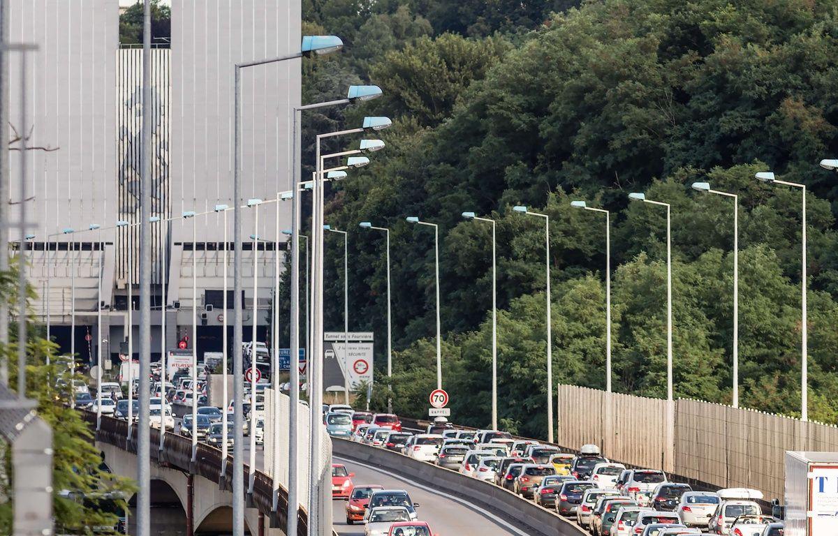 Le tunnel est interdit aux camions et autocars depuis le 4 octobre 2017. – SIPA