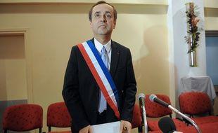 Robert Ménard, maire de Béziers (Hérault), le 4 avril 2014.